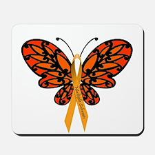 MS Awareness Butterfly Ribbon Mousepad