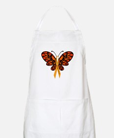 MS Awareness Butterfly Ribbon Apron