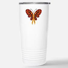 MS Awareness Butterfly Ribbon Travel Mug