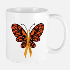 MS Awareness Butterfly Ribbon Small Small Mug