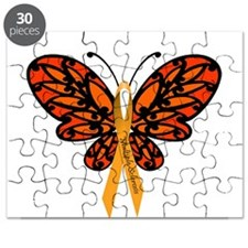 MS Awareness Butterfly Ribbon Puzzle