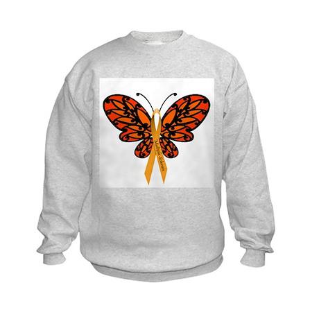 MS Awareness Butterfly Ribbon Sweatshirt