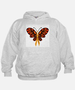 MS Awareness Butterfly Ribbon Hoodie
