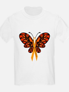 MS Awareness Butterfly Ribbon T-Shirt