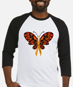 MS Awareness Butterfly Ribbon Baseball Jersey