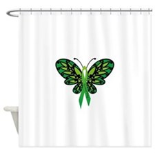 CP Awareness Ribbon Shower Curtain