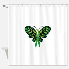 CP Awareness Ribbon Shower Curtain