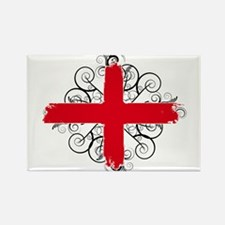 England Red Cross Emblem Rectangle Magnet