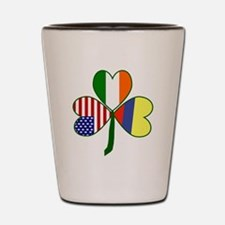 Shamrock of Colombia Shot Glass