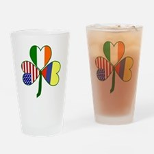 Shamrock of Colombia Drinking Glass