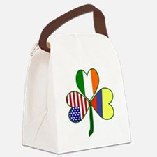 Shamrock of Colombia Canvas Lunch Bag