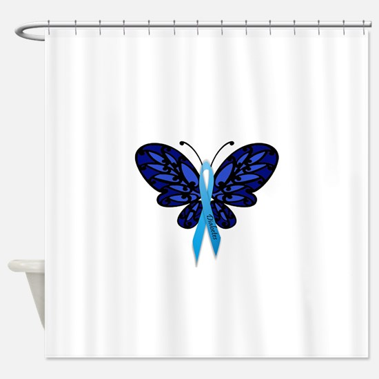 Diabetes Awareness Shower Curtain