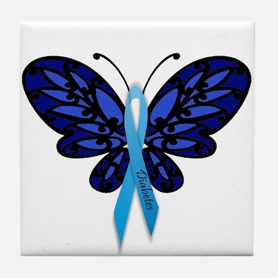 Diabetes Awareness Tile Coaster