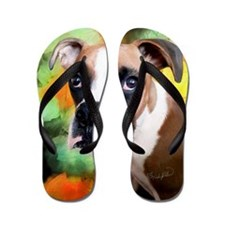 Beautiful Boxer Flip Flops