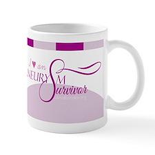 I <3 An Aneurysm Survivor (Purple) Mug