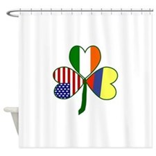 Shamrock of Colombia Shower Curtain