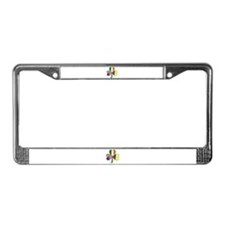 Shamrock of Colombia License Plate Frame
