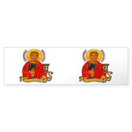 St. Fuan Bumper Sticker