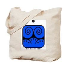 BLUE Magnetic NIGHT Tote Bag