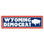 Wyoming Democrat Bumper Sticker