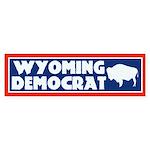 Wyoming Democrat Bumper Sticker