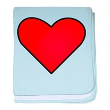 Red Heart Drawing baby blanket