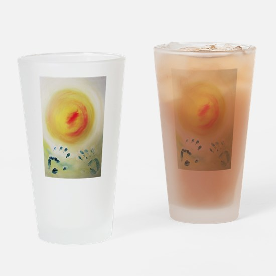 Soul Creation Drinking Glass