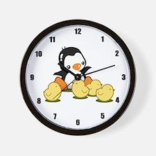 Little Chicks Wall Clock