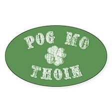 Pog Mo Thoin Sticker (oval)