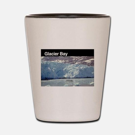 Unique Glacier national park montana Shot Glass