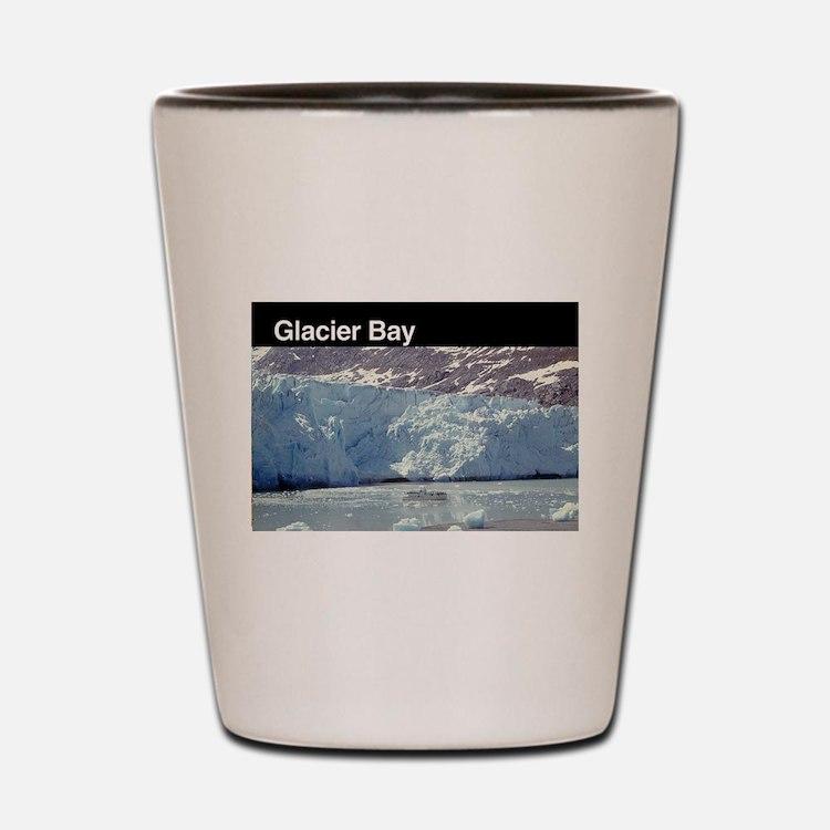 Cute Glacier bay national park Shot Glass