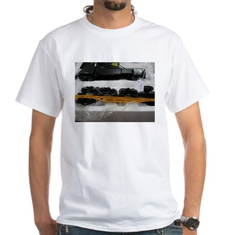 Black Train Pieces T-Shirt