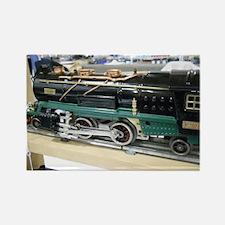 Train Engine Rectangle Magnet