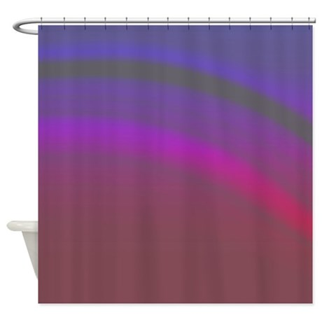 Plum Night Shower Curtain By Coppercreekdesignstudio