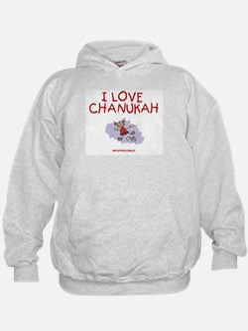 I Love Chanukah Hoodie