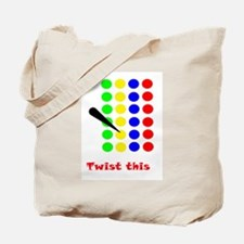 Twist This Tote Bag