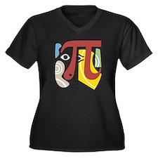 Pi Symbol Pi-casso Plus Size T-Shirt