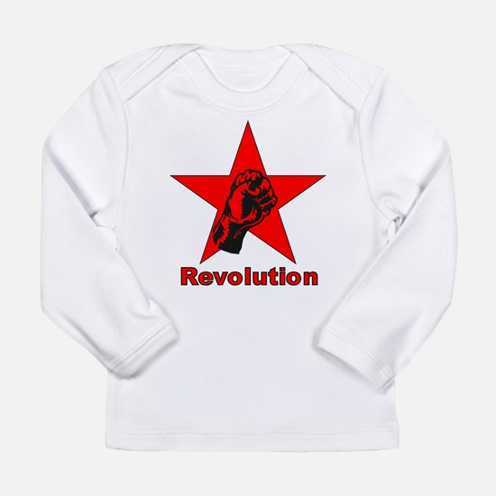 Commie Revolution Star Fist Long Sleeve T-Shirt