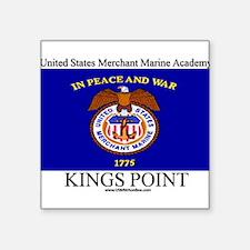 USMM Flag Rectangle Sticker