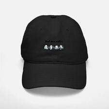 real men writer large Baseball Hat