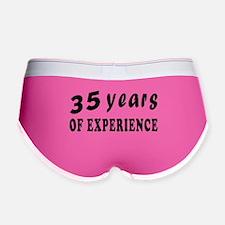 35 years birthday designs Women's Boy Brief