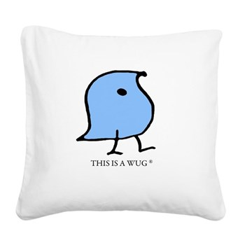 This Is A Wug Square Canvas Pillow