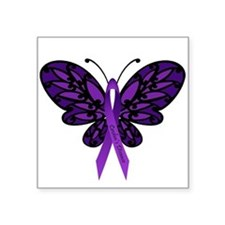 Crohns Disease Ribbon Sticker