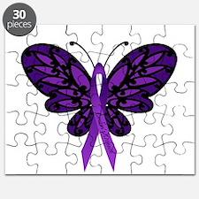 Crohns Disease Ribbon Puzzle