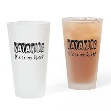 Kayaking Designs Drinking Glass