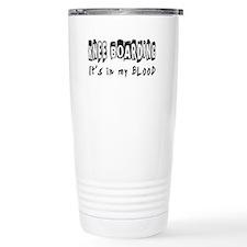 Knee Boarding Designs Travel Mug