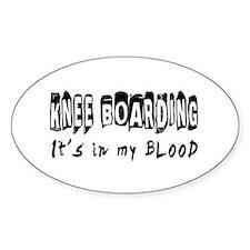 Knee Boarding Designs Decal