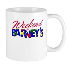 Weekend at Barney's Mug