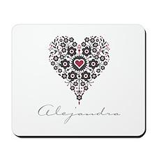 Love Alejandra Mousepad