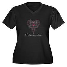 Love Alexandra Plus Size T-Shirt